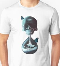 Until dawn - skull and butterflies Unisex T-Shirt