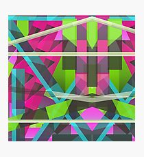 Abstract Rectangle  Photographic Print