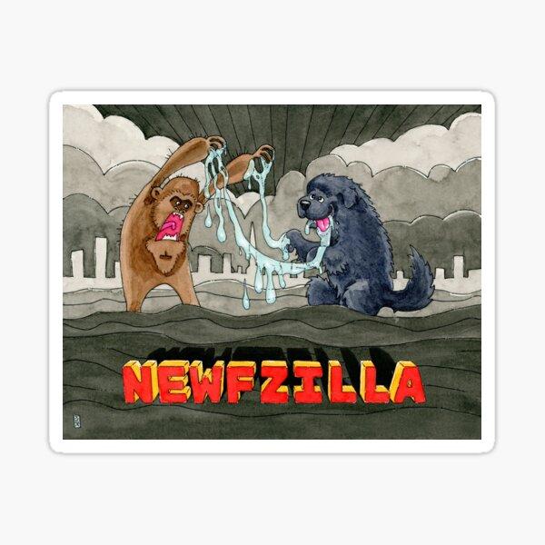 NEWFZILLA Sticker