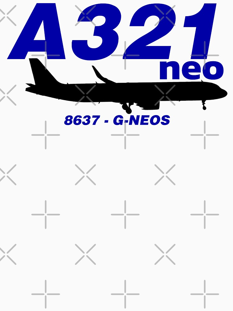 A321neo 8637 G-NEOS (Black Print) by AvGeekCentral