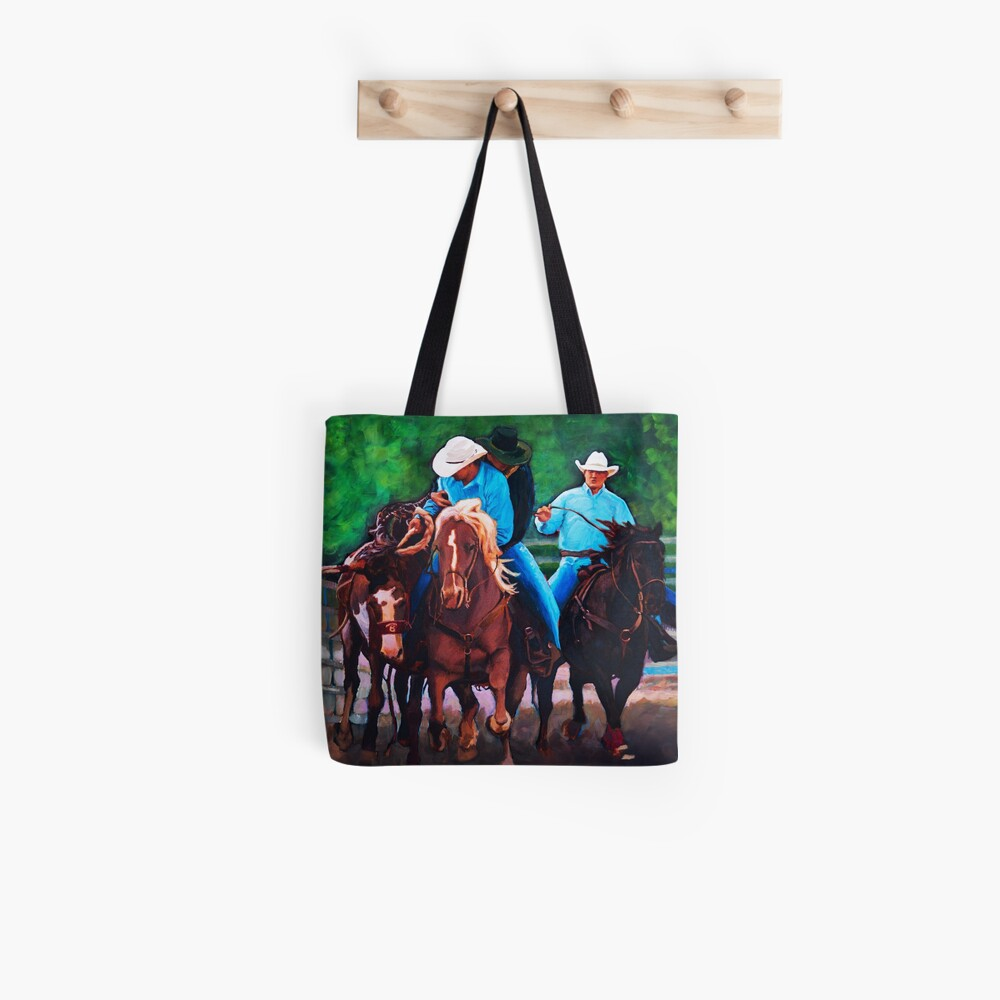 Rodeo Cowboys Tote Bag