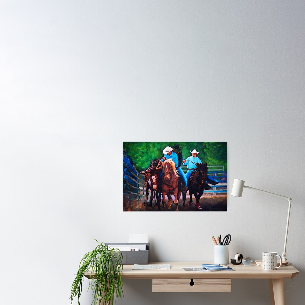 Rodeo Cowboys Poster