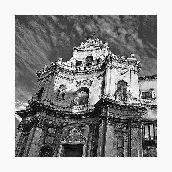 Chiesa di San Placido - Catania Photographic Print