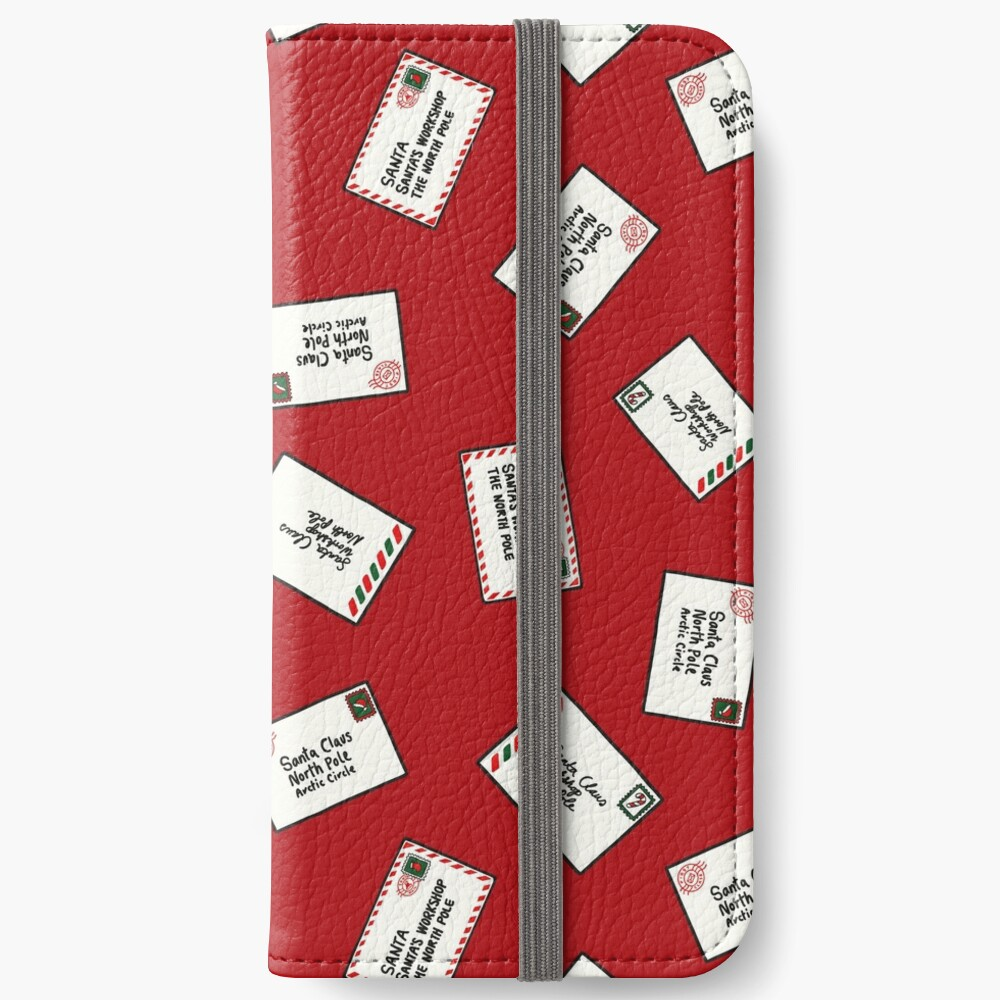 Letters to Santa iPhone Wallet