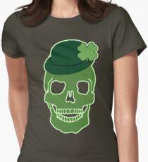 Irish Skull  Women's Fitted T-Shirt
