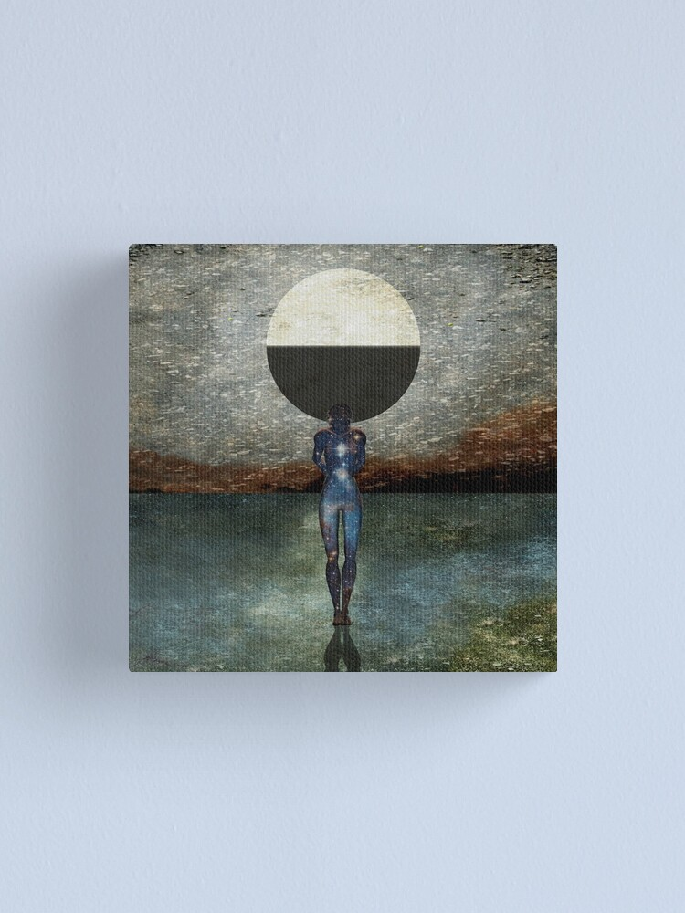 Alternate view of Second State Of Dreams (Last Quarter) Canvas Print