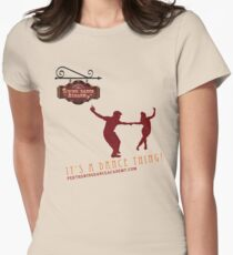 Perth Swing Dance Academy  Womens Fitted T-Shirt