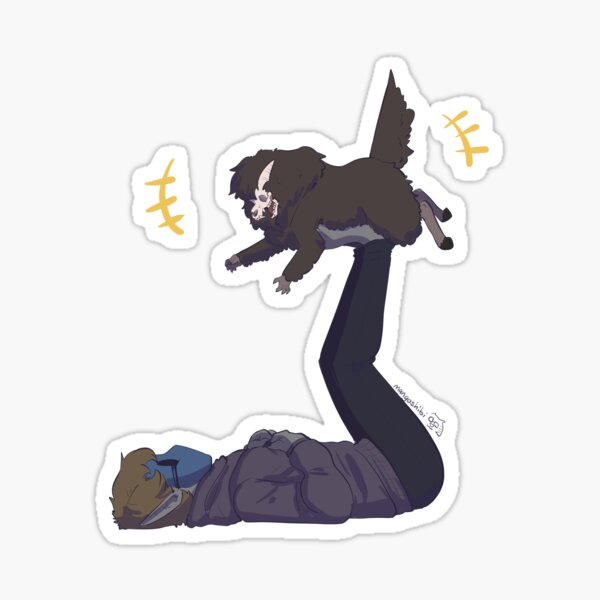 Pup Goes Up! Sticker