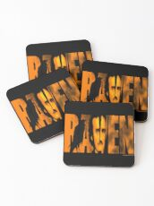Edgar Allan Poe and The Raven Coasters