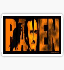 Edgar Allan Poe and The Raven Sticker