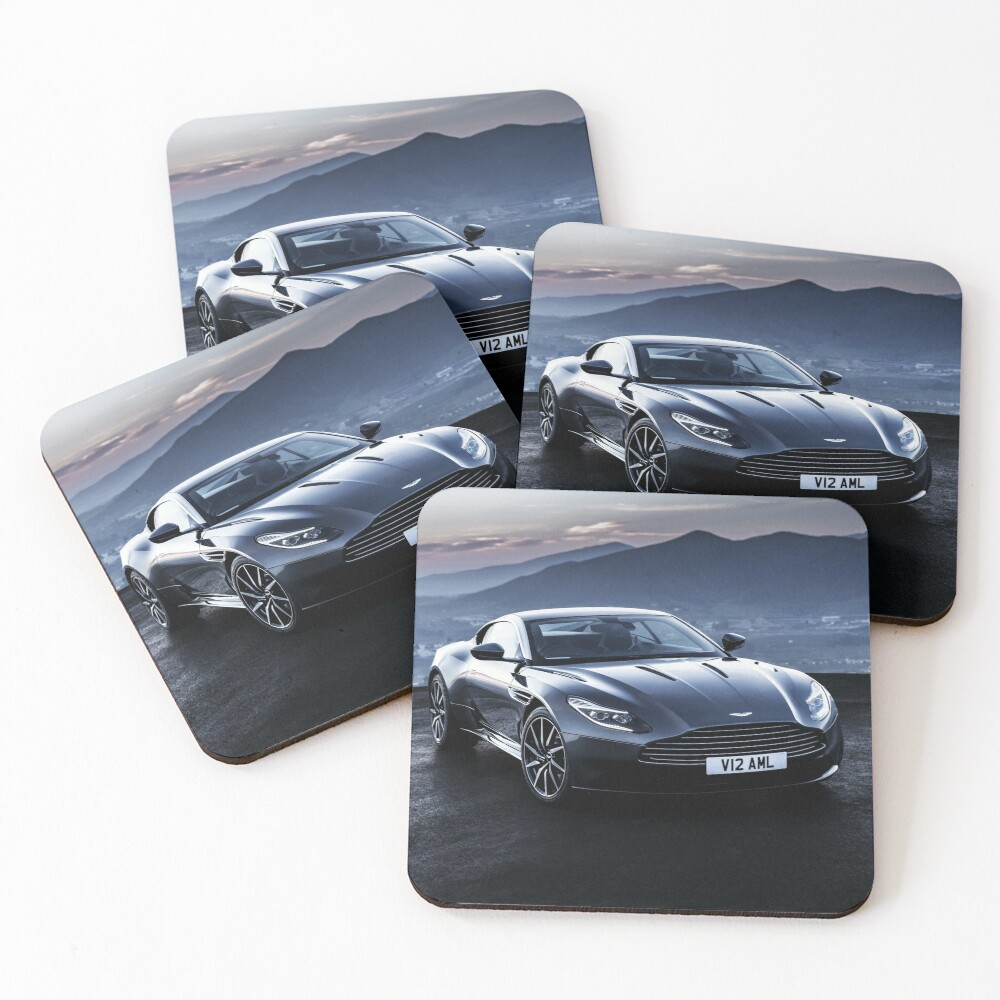 White Leather Tri Perfect Fit Black Mats for Aston Martin V8 Vantage Coupe 05/>