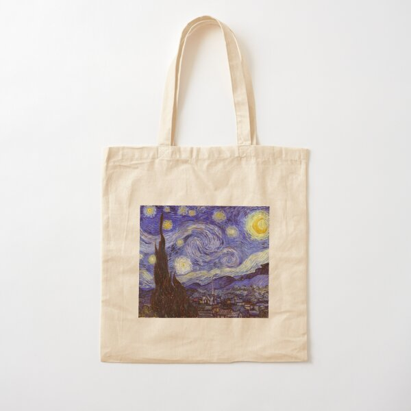 Vincent Van Gogh Starry Night Cotton Tote Bag