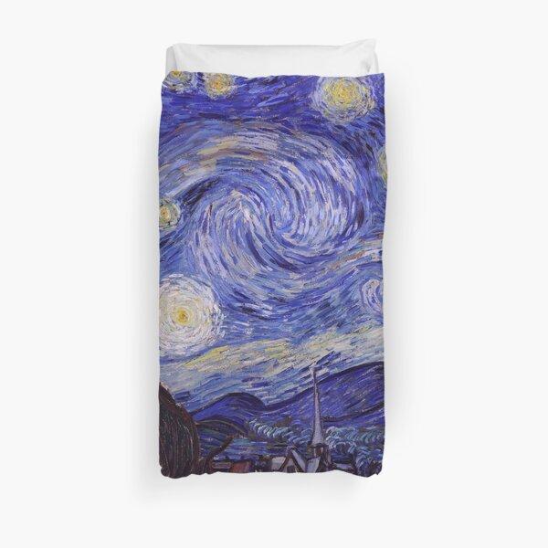 Vincent Van Gogh Starry Night Duvet Cover