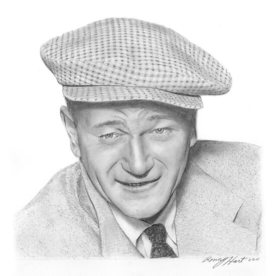 John Wayne by Ronny Hart