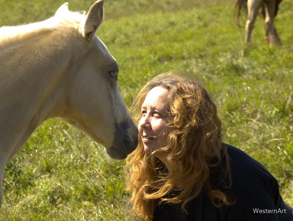 First Kiss  by WesternArt