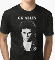 GG ALLIN T-Shirt Tri-blend T-Shirt