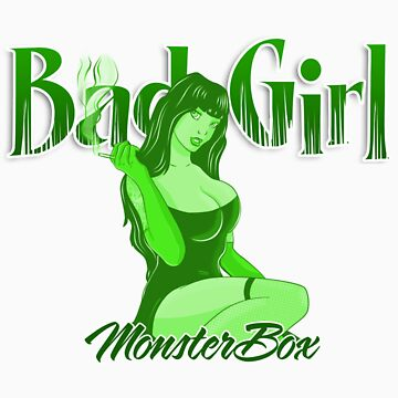 Bad Girl Green by monsterbox