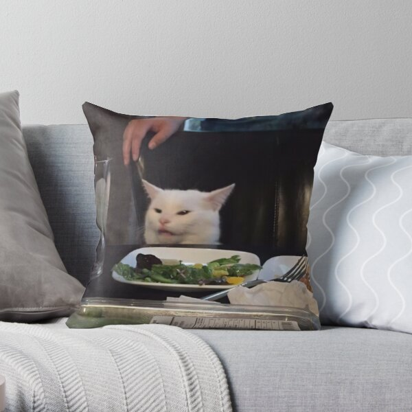 It Cat Throw Pillow