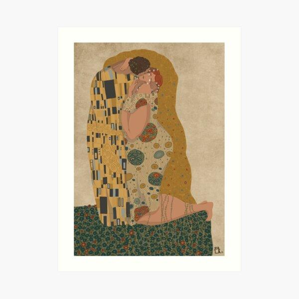 The Kiss - Gustav Klimt Art Print