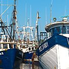Three Trawlers by Steve Borichevsky