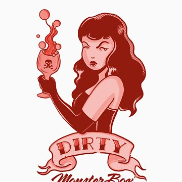 Dirty Pinup Red by monsterbox