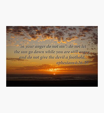 don't let the sun go down... Photographic Print