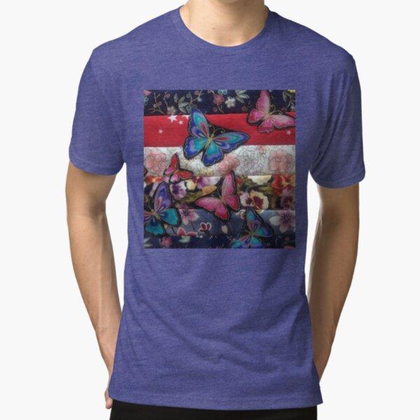 Butterfly Dance Tri-blend T-Shirt