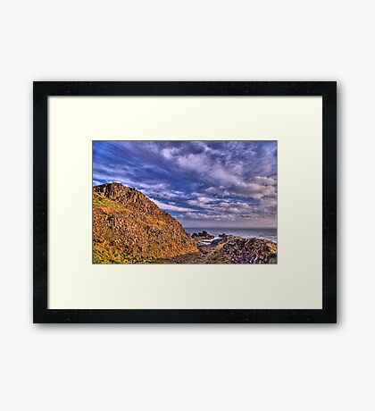 Low Tide at Chapel Ness Framed Print