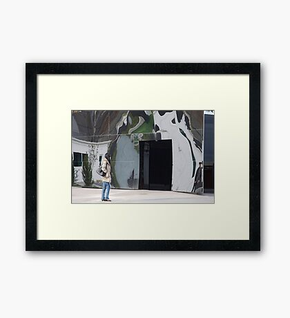 artscapes #70, come on down Framed Print
