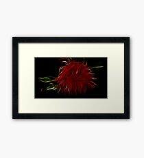 Bottle brush Framed Print