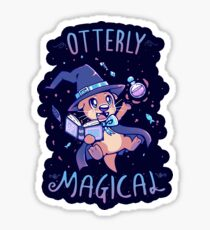 Otterly Magical Sticker