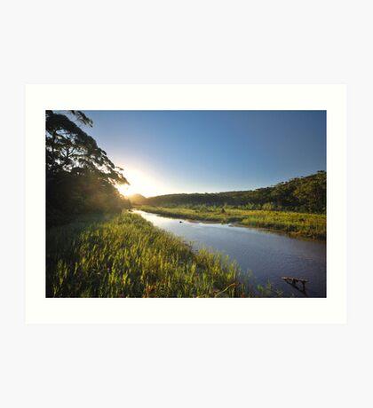 Thurra River - Croajingolong National Park Art Print