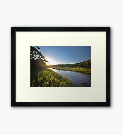 Thurra River - Croajingolong National Park Framed Print