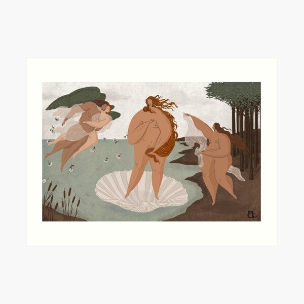 The Birth of Venus - Sandro Botticelli Art Print