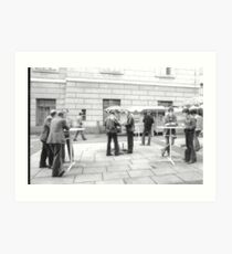 1984 - berlin east: no coffee for the stasi? Art Print