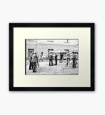 1984 - berlin east: no coffee for the stasi? Framed Print