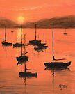 Monterey Harbor by Michael Beckett