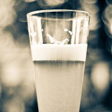 Beer Glass Bokeh by AnnabelHC