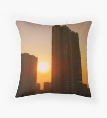 Changzhou tower blocks, China Throw Pillow
