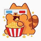 ★ Kawaii Cinema Cat by cadcamcaefea