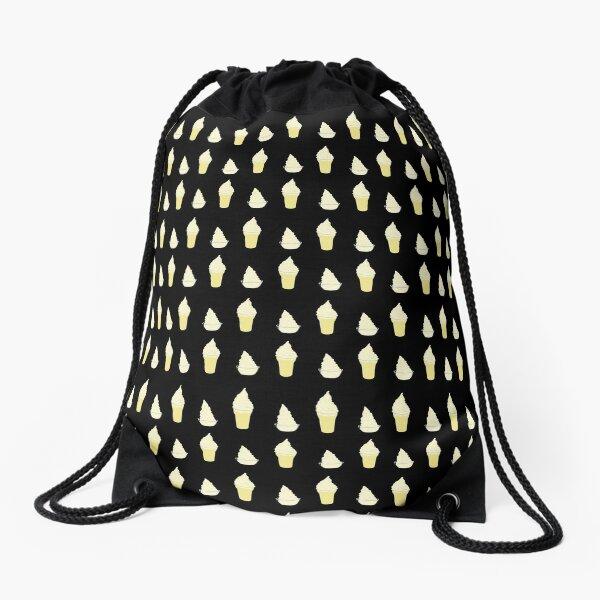 whip it - dark pattern Drawstring Bag