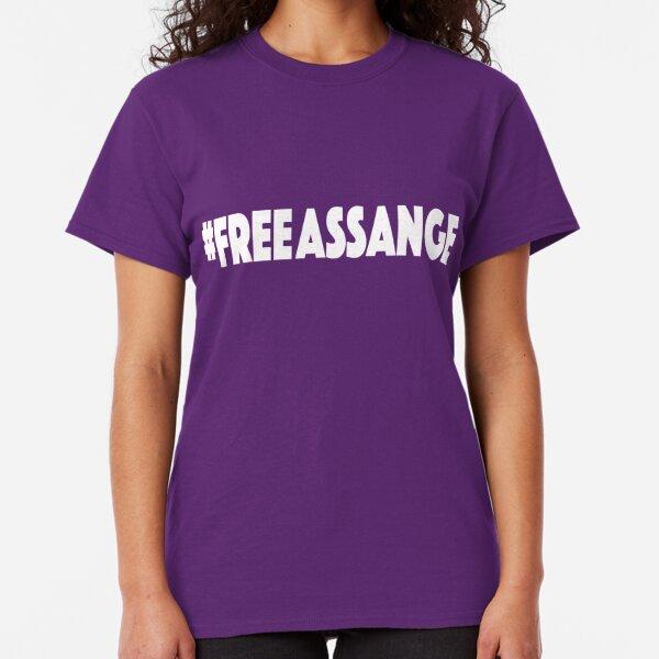 Free Assange Tee Classic T-Shirt