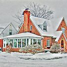 Corner House  and the Snow by henuly1