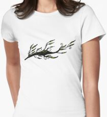 Leafy Womens Fitted T-Shirt