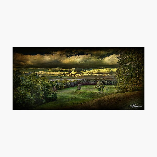 Hudson River Meadow Photographic Print