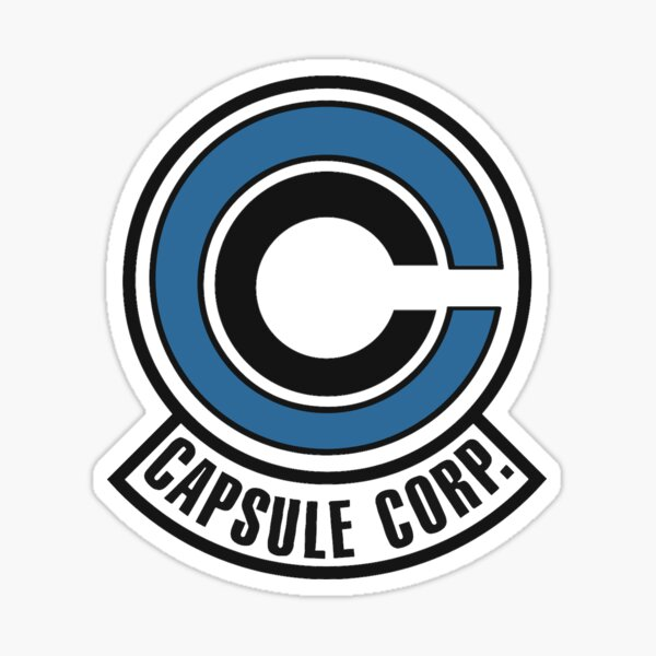 Capsule Corp. Badge Sticker