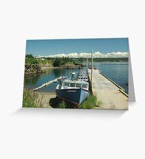 Scott's Bay, Nova Scotia Greeting Card