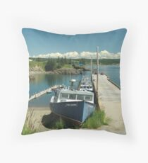 Scott's Bay, Nova Scotia Throw Pillow
