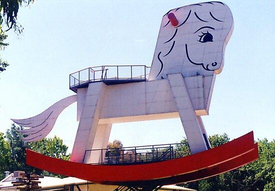 The Big Rocking Horse by Michael John