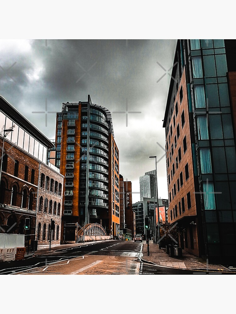 Deserted city of Manchester in autumn by jameschaos